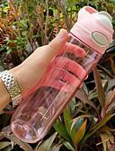 povoljno Smartwatch bendovi-Boca za vodu 750 ml PP Prijenosno za Kampiranje / planinarenje / Speleologija Putovanje Siva Plava Pink Dark Blue