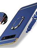 ราคาถูก เคสสำหรับโทรศัพท์มือถือ-Case สำหรับ Samsung Galaxy S9 / S9 Plus / S8 Plus Shockproof / Plating / ที่แขวนห่วง ปกหลัง สีพื้น Hard พีซี / Metal