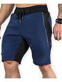 ราคาถูก กางเกงผู้ชาย-สำหรับผู้ชาย พื้นฐาน กางเกงขาสั้น กางเกง - สีพื้น เทาเข้ม สีน้ำเงินกรมท่า เทาอ่อน XL XXL XXXL