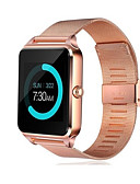 baratos Smart watch-Relógio inteligente Digital Estilo Moderno Esportivo 30 m Impermeável Bluetooth Smart Digital Casual Ao ar Livre - Preto Dourado Prata