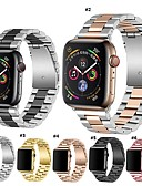 billige Smartwatch Bands-Klokkerem til Apple Watch Series 5/4/3/2/1 / Apple Watch Series 4 Apple Moderne spenne Rustfritt stål Håndleddsrem