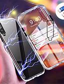 Χαμηλού Κόστους Αξεσουάρ Samsung-tok Για Samsung Galaxy Galaxy A7(2018) / Galaxy A30 (2019) / Galaxy A50 (2019) Μαγνητική Πίσω Κάλυμμα Μονόχρωμο Σκληρή Ψημένο γυαλί