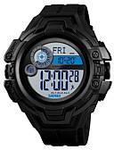 ราคาถูก นาฬิกาข้อมือสแตนเลส-SKMEI1447 ผู้ชายผู้หญิง ดูสมาร์ท Android iOS บลูทูธ Waterproof กีฬา โหมดสแตนบายยาว เครื่องจับเวลา นาฬิกาจับเวลา นาฬิกาปลุก โครโนกราฟ ปฏิทิน
