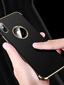 זול מגנים לאייפון-מגן עבור Apple iPhone XS / iPhone XR / iPhone XS Max עמיד בזעזועים / עמיד במים / ציפוי כיסוי אחורי אחיד רך TPU