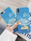 זול מקרה אחר-במקרה של תפוח שמים כחולים וענן לבן דפוס טלפון סלולרי ערכות מתאים iPhone6 / 6s / 6splus / 7 / 7plus / 8 / 8plus / x / xr / xs / xsmax