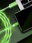 זול כבל & מטענים iPhone-תאורה כבל 1.0m (3ft) תשלום מהיר TPE מתאם כבל USB עבור iPhone