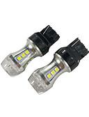 זול אוברולים טריים לתינוקות-2pcs dc 10-30v t20 can-bus הובילה בלם אור 18w 7440 הוביל אור הזנב