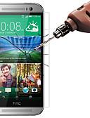 זול מגן מסך נייד-HTCScreen ProtectorHTC M9 (HD) ניגודיות גבוהה מגן מסך קדמי 10 יחידות זכוכית מחוסמת