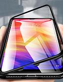 זול מגנים לטלפון-מגן עבור Xiaomi Xiaomi Pocophone F1 / Xiaomi Mi 8 / Xiaomi Mi 8 Lite שקוף כיסוי מלא אחיד קשיח מתכת