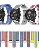 ราคาถูก วง Smartwatch-สายนาฬิกา สำหรับ Huami Amazfit Stratos Smart Watch 2/2S Xiaomi สายยางสำหรับเส้นกีฬา ผ้า / ไนลอน สายห้อยข้อมือ