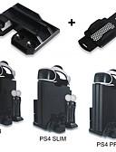 billiga Samsung-tilbehør-laddare för ps4 / sony ps4 / ps4 slim effektiva och bekväma multifunktionella modehållbara speltillbehör svart