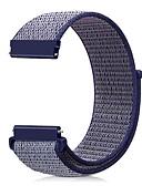 ราคาถูก วง Smartwatch-สายนาฬิกา สำหรับ Huami Amazfit A1602 / Huami Amazfit A1607 / Huami Amazfit Stratos Smart Watch 2/2S Xiaomi สายยางสำหรับเส้นกีฬา ไนลอน สายห้อยข้อมือ