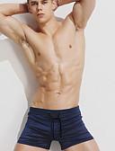 povoljno Muške duge i kratke hlače-Muškarci Sportski Slim Kratke hlače Hlače - Jednobojni Crn Red Navy Plava L XL XXL