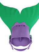 povoljno Lolita moda-Swim Fins Sirena Plivanje Ronjenje TPR PP - za Djeca Zelen Plava Pink