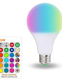 billiga Löparkläder-1st 10 W Smart LED-lampa 200-800 lm E26 / E27 A70 6 LED-pärlor SMD 5050 Smart Bimbar Party RGBW 85-265 V