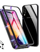 Χαμηλού Κόστους Αξεσουάρ Samsung-μαγνητο μαγνητική θήκη γυαλιού απορρόφησης για το γαλαξία της Samsung a70 a50 πίσω θήκες για το γαλαξία της Samsung a40 a30 a20 a10 a9 2018 a7 2018