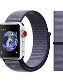ราคาถูก วง Smartwatch-สายนาฬิกา สำหรับ Apple Watch Series 4/3/2/1 Apple สายยางสำหรับเส้นกีฬา ไนลอน สายห้อยข้อมือ