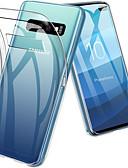 Χαμηλού Κόστους Αξεσουάρ Samsung-tok Για Samsung Galaxy S9 / S9 Plus / S8 Plus Ανθεκτική σε πτώσεις / Εξαιρετικά λεπτή / Διαφανής Πίσω Κάλυμμα Μονόχρωμο Μαλακή TPU