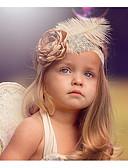 זול ילדים אביזרים לשיער-מידה אחת ורוד מסמיק אביזרי שיער תחרה סגנון פרחוני פרחוני / ציפור חִנָנִית בסיסי / מתוק בנות פעוטות