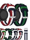 Χαμηλού Κόστους Κοστούμια για Παιδιά που Κουβαλάνε τις Βέρες-νάυλον υφαντά καμβά ρολόι ζώνη λουράκι βραχιόλι βραχιόλι για πρόδρομο Garmin 645 / πρόδρομος 245m / vivoactive 3 / vivomove hr / vivomove έξυπνο ρολόι