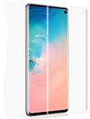 ราคาถูก ป้องกันหน้าจอโทรศัพท์มือถือ-Samsung GalaxyScreen ProtectorGalaxy S10 ความละเอียดสูง (HD) Front Screen Protector 1 ชิ้น PET