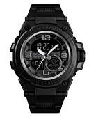 ราคาถูก นาฬิกาดิจิทัล-SKMEI สำหรับผู้ชาย นาฬิกาทหาร นาฬิกา Navy Seal ดิจิตอล ดำ 50 m Military Bluetooth Smart อะนาล็อก-ดิจิตอล ภายนอก แฟชั่น - สีดำ ฟ้า สีทอง หนึ่งปี อายุการใช้งานแบตเตอรี่ / โครโนกราฟ / นาฬิกาจับเวลา
