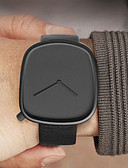ราคาถูก นาฬิกาสวมใส่เข้าชุด-สำหรับผู้ชาย นาฬิกาตกแต่งข้อมือ นาฬิกาอิเล็กทรอนิกส์ (Quartz) หนัง ดำ / เทา 30 m กันน้ำ ดีไซน์มาใหม่ เท่ห์ ระบบอนาล็อก ไม่เป็นทางการ แฟชั่น ดูง่าย - สีดำ สีเทา Black / Rose Gold / หนึ่งปี