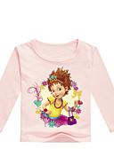 billige Hettegensere og gensere til herrer-Barn Baby Jente Grunnleggende Trykt mønster Trykt mønster Langermet Bomull T-skjorte Grå