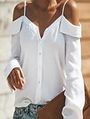 povoljno Majica-Majica Žene Dnevno Jednobojni V izrez Obala L