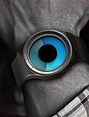 זול פלדת אל חלד-בגדי ריקוד גברים שעון דיגיטלי דיגיטלי מתכת אל חלד שחור / כסף 30 m עמיד במים יצירתי שעונים יום יומיים אנלוגי מדבקות עם נצנצים אופנתי - שחור כסף שנה אחת חיי סוללה