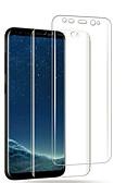 Χαμηλού Κόστους Προστατευτικά Οθόνης για Samsung-Προστατευτικό οθόνης για το galaxy samsung s8 / s8 plus / s9 κατοικίδιο ζώο 2 τεμάχια Προστατευτικό οθόνης front-screen υψηλής ανάλυσης (hd) / απόδειξη αποτύπωσης / αντι-δακτυλικό αποτύπωμα