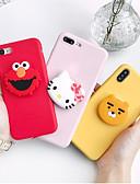 זול מגנים לאייפון-מארז iPhone xr / iPhone xs מקס דפוס / עם לעמוד אחורה קריקטורה רכה tpu עבור x x x x 8 8plus 7 7plus 6 6plus 6s 6s פלוס
