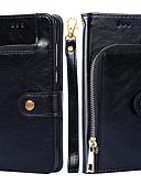 ราคาถูก หมวกสุภาพบุรุษ-Case สำหรับ Apple iPhone 8 Plus / iPhone 8 / iPhone 7 Plus Wallet ปกหลัง สีพื้น Hard หนัง PU