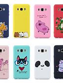 ราคาถูก เคสสำหรับโทรศัพท์มือถือ-กรณีสำหรับ samsung galaxy j5 (2016) / j7 (2016) แบบปกหลังสัตว์ / การ์ตูน soft tpu สำหรับ j3 (2016) / j5 (2016) / j7 (2016)