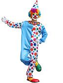 Χαμηλού Κόστους Κοστούμια για Παιδιά που Κουβαλάνε τις Βέρες-Burlesque / Κλόουν Στολές Ηρώων Χορός μεταμφιεσμένων Ενηλίκων Ανδρικά Στολές Ηρώων Halloween Χριστούγεννα Halloween Απόκριες Γιορτές / Διακοπές Τερυλίνη Μπλε Αποκριάτικα Κοστούμια