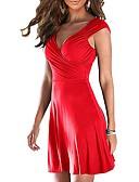 זול חצאיות לנשים-מיני אחיד - שמלה נדן בסיסי בגדי ריקוד נשים