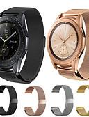billige Smartwatch Bands-Klokkerem til Samsung Galaxy Watch 46 / Samsung Galaxy Watch 42 Samsung Galaxy Milanesisk rem Rustfritt stål Håndleddsrem