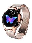 Χαμηλού Κόστους Smartwatch Bands-kw10 έξυπνο watch bt fitness tracker υποστήριξη ειδοποίηση / καρδιακός ρυθμός παρακολούθηση αθλητισμός ανοξείδωτο ατσάλι bluetooth smartwatch συμβατό τηλέφωνο ios / android