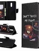 povoljno Maske za mobitele-Θήκη Za LG LG V30 / LG V20 / LG Stylo 4 Novčanik / Otporno na trešnju / sa stalkom Korice Riječ / izreka Tvrdo PU koža / LG G6