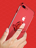 זול מגנים לטלפון-Cisic במקרה עבור iPhone XS iPhone / iPhone XS מקס / מחזיק טבעת / מחזירה backproof חיה / שקוף ג'ל סיליקה רכה עבור iPhone XS / iPhone XS מקס