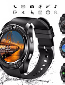olcso Okos órák-Intelligens Watch Digitális Modern stílus Sportos Műbőr 30 m Bluetooth Smart Naptár Digitális Alkalmi Szabadtéri - Fekete Fehér Piros