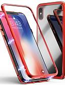זול מגנים לאייפון-מארז iPhone 6 / iPhone xs מקסימום שקוף כיסוי אחורי שקוף קשה מזג זכוכית עבור iPhone 6 / iPhone 6 פלוס / iPhone 6s