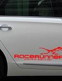 Χαμηλού Κόστους Βερνίκια & Τζελ Νυχιών-1pair 3d δεινόσαυρος τοτέμ διακόσμηση αντανακλαστικά αυτοκόλλητα αυτοκόλλητα αυτοκίνητα στυλ decal