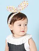 זול ילדים אביזרים לשיער-מידה אחת ורוד מסמיק / בז' אביזרי שיער כותנה פפיון / מסוגנן אחיד / גיאומטרי פעיל / בסיסי / מתוק בנות פעוטות / עולל / תינוק