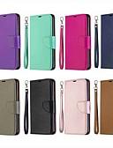 baratos Capinhas para Xiaomi-caso para xiaomi redmi 7 / redmi nota 7 magnética / flip / com estande casos de corpo inteiro sólido colorido pu couro duro para redmi k20 / redmi 6a / redmi 6 / redmi 6 pro /