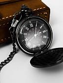 ราคาถูก นาฬิกาสำหรับผู้ชาย-สำหรับผู้ชาย นาฬิกาแบบพกพา นาฬิกาอิเล็กทรอนิกส์ (Quartz) รูปแบบคลาสสิก สไตล์ ดำ / เงิน / ทอง ไม่ นาฬิกาใส่ลำลอง ระบบอนาล็อก คลาสสิก ภายนอก - สีดำ บรอนซ์ สีทอง หนึ่งปี อายุการใช้งานแบตเตอรี่