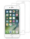 baratos Protetores de Tela para iPhone-protetor de tela para apple iphone 5 / iphone se / 5s / iphone 6 vidro temperado 2 pcs protetor de tela frontal de alta definição (hd) / 9h dureza / 2.5d borda curvada