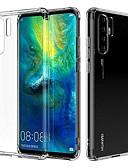 Χαμηλού Κόστους Θήκες / Καλύμματα για Huawei-tok Για Huawei Huawei P30 Pro Διαφανής Πίσω Κάλυμμα Διάφανη Μαλακή TPU
