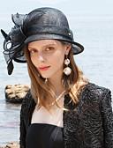 זול מטען כבלים ומתאמים-100% פשתן מפגשים / כובעים עם פרחוני 1pc אירוע מיוחד / מסיבה\אירוע ערב כיסוי ראש