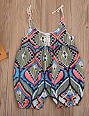 זול שמלות לתינוקות-מקשה אחת One-pieces ללא שרוולים דפוס בנות תִינוֹק